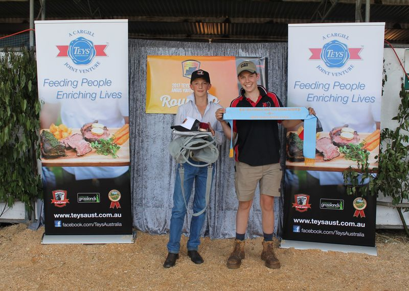 Harry Trunham Best Maintained stall - Lachie McLauchlan
