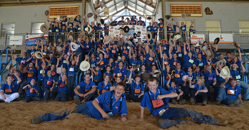 The group photo from Roundup 2014, held in Toowoomba.