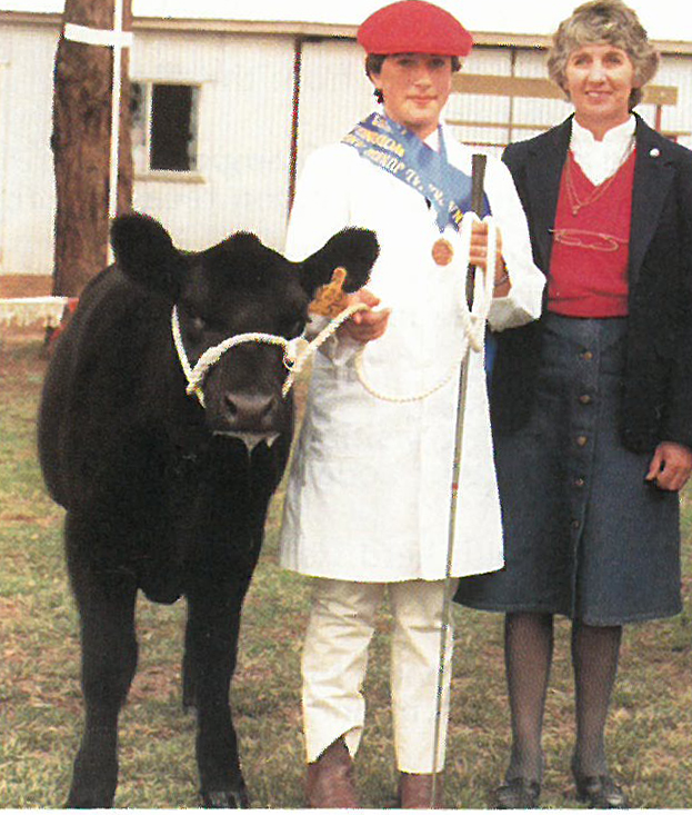 Alison Inglis 1983 (pictured with Judge Mrs Clare Hays)