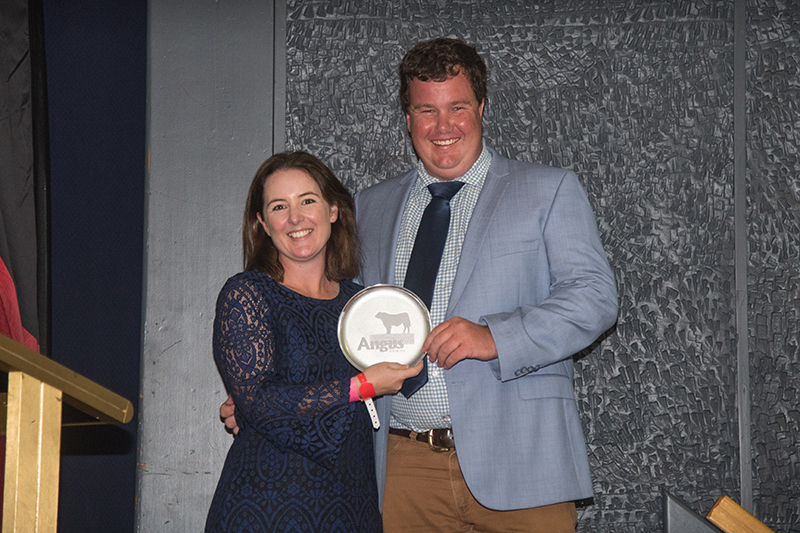 Cornell Shield Zac McInerney presented by Candice Liddle