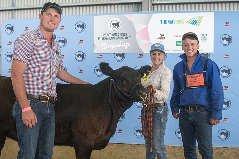 Dalwhinnie Promising Young Angus Breeder Award Noah Iddles
