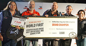 Holy Smoke! The inaugural Verified Black Angus Beef BBQ Competition a flaming success!