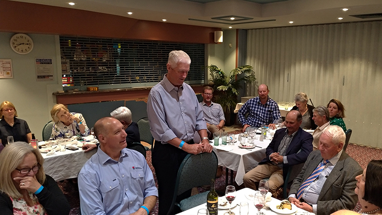 NSW State Committee dinner