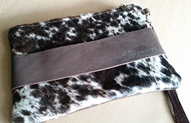 Hide Clutch donated by Burnt Orange