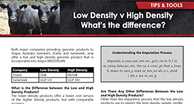 Low Density vs High Density. What's the difference?