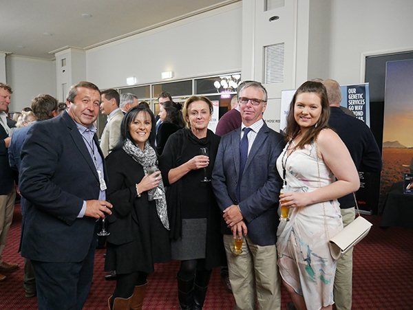 Tony Seymour, Lee-Anne Turner, Anna & Mark Gubbins and Laura Grubb