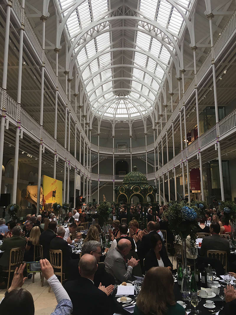 Gala Dinner at the National Museum of Scotland