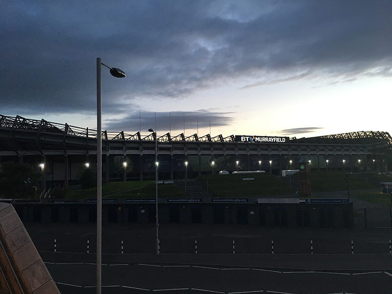Murrayfield Stadium, the home of Scottish Rugby
