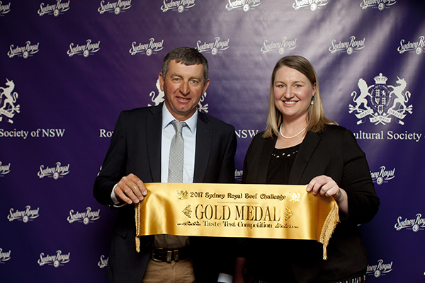 Darrell Mitchell _& Demelsa Lollback Domestic Team Domestic Team Eating Quality MSA Index Gold Medal