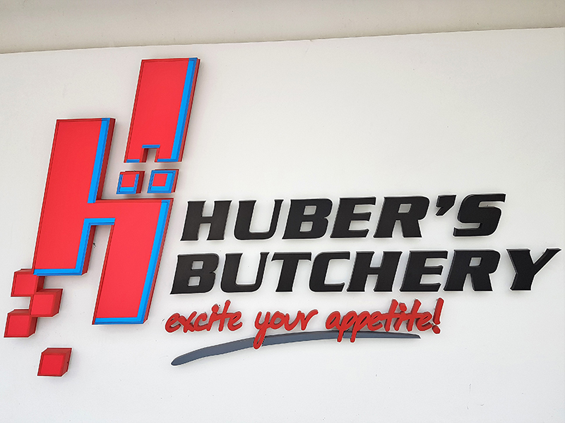 Huber's Butchery & Wholesale. One of Singapore's largest butchery and meat distributions to SE Asia