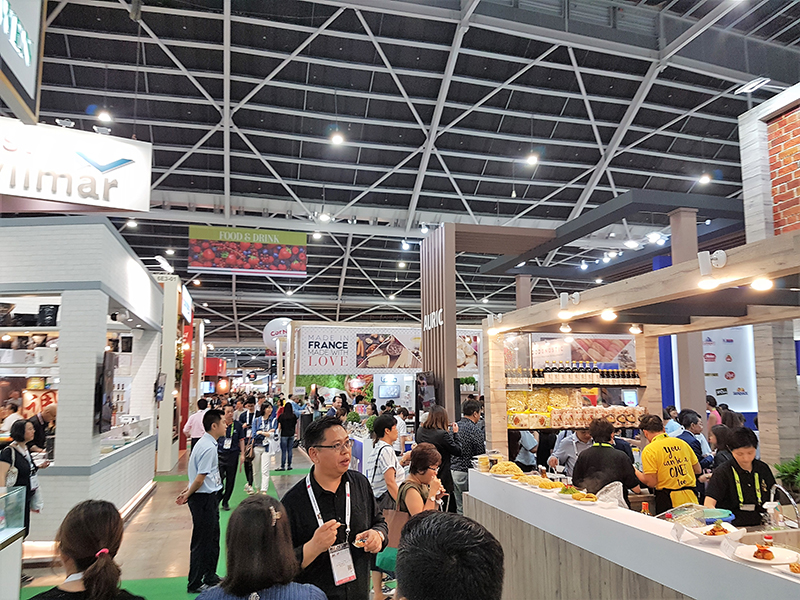 Country displays at FHA 2018 Singapore
