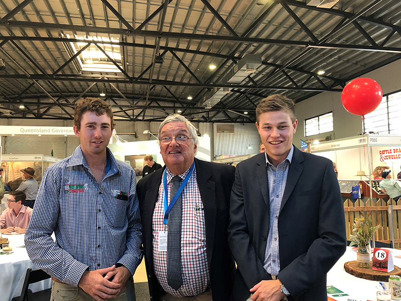 Hamish Lamond, Grg Chappell and Jack Laurie
