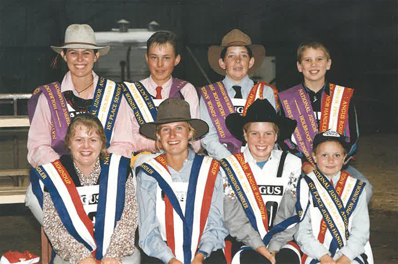 Shot from Angus Youth Roundup 1995