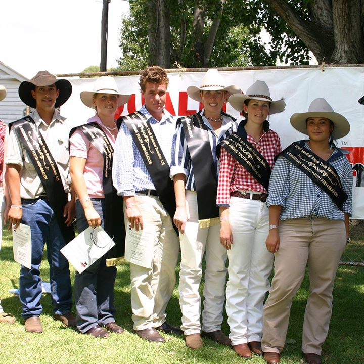 Landmark Angus Youth Ambassadors at Round Up 2007