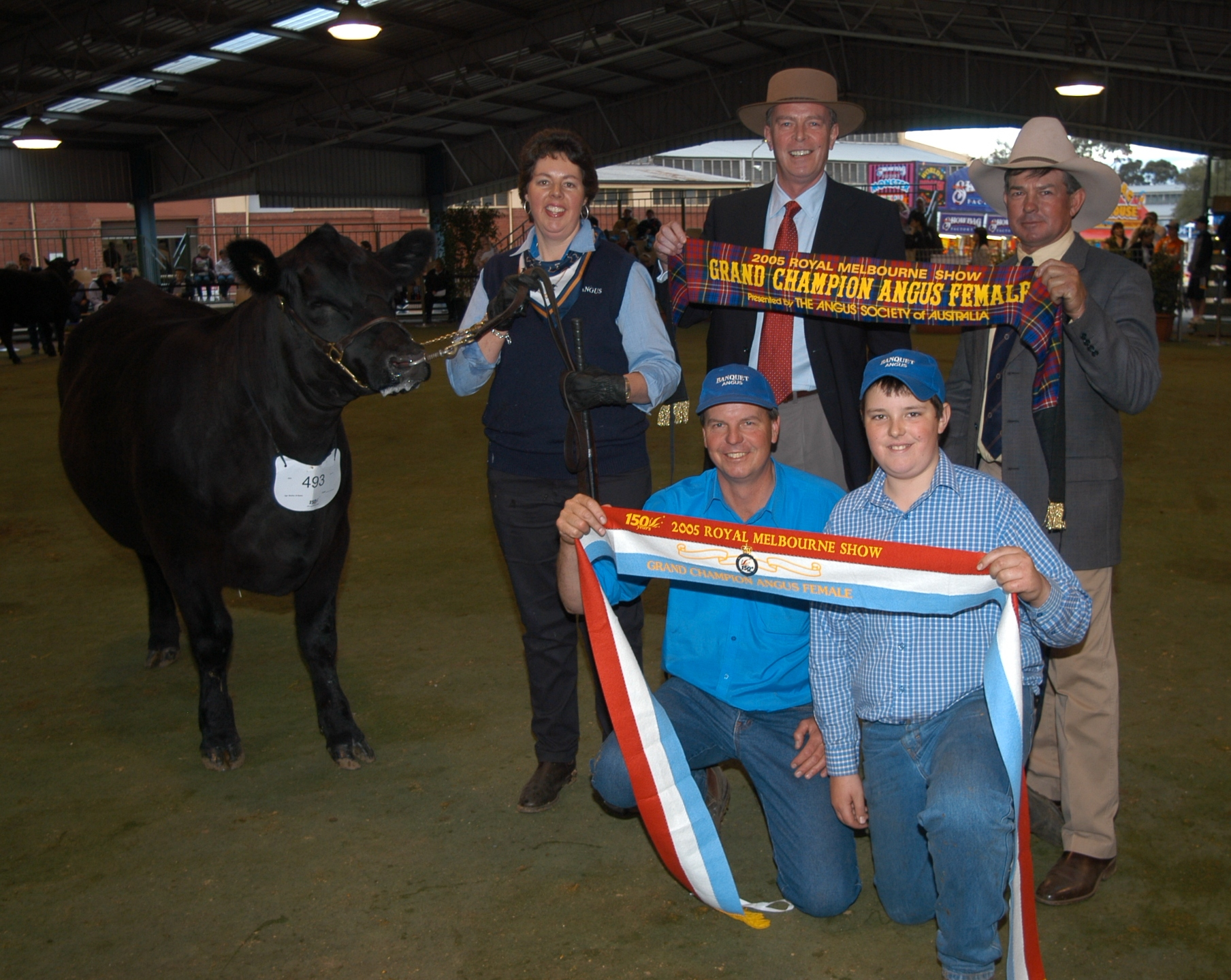 Grand Champion Angus Female 2005 Royal Melbourne