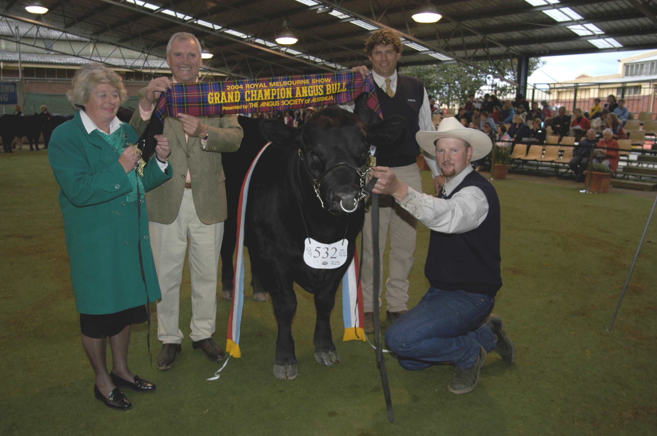 Grand Champion Angus Bull 2004 Melbourne Royal