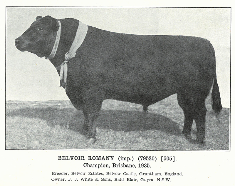 Herd Book of Australia, Volume 6: Published by the Aberdeen-Angus Herd Book  Society of Australia, March 1936