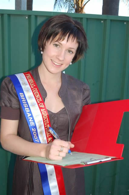 Trinity Edwards Ekka 2007