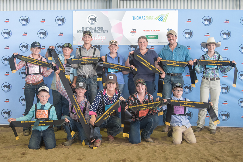 Champion Team Goonoo Red Angus