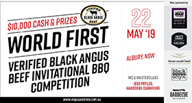 Get your tickets for the Verified Black Angus Beef BBQ competition!