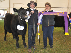 Royal Adelaide 2015 Reserve Junior Champion Female