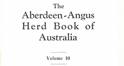 The Aberdeen-Angus Herd Book 10 - August 1944