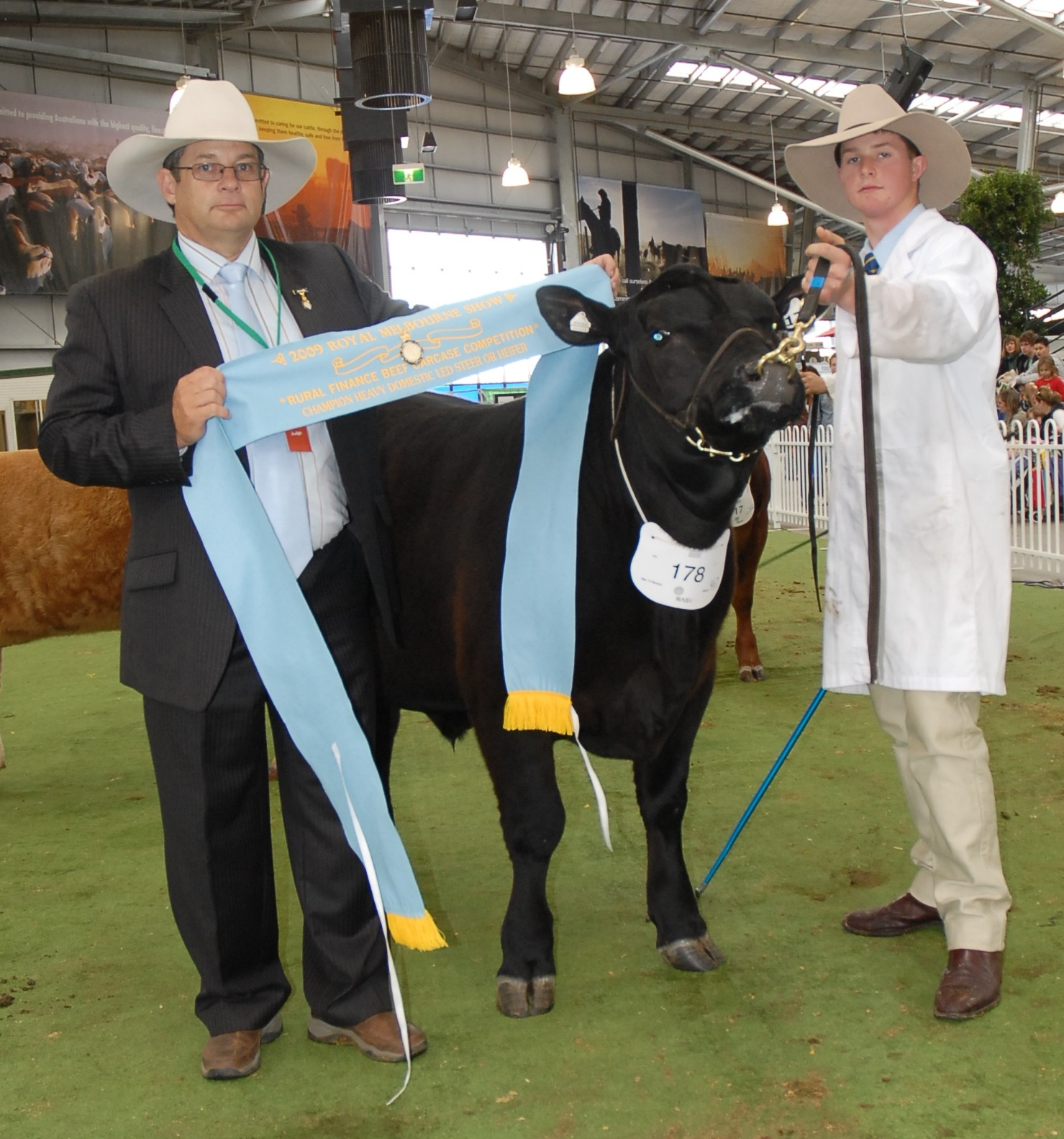 Champion Heavy Domestic Led Steer or Heifer 2009 Melbourne Royal