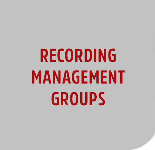 RECORDING-MANAGEMENT-GROUPS