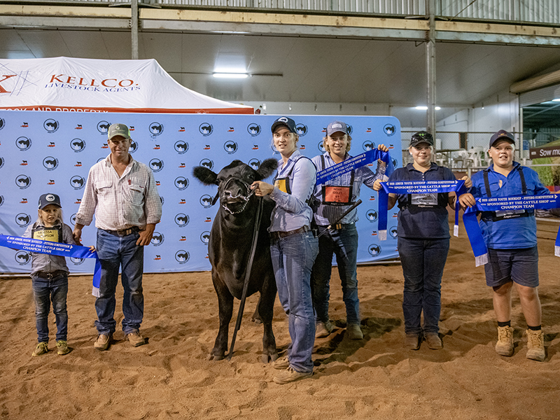 Champion Team Fitting Compeition - Bowenfels Angus